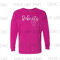 Bobcat Love Long Sleeve Tee