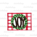 Leopard Joy Wreath Hand Drawn Sublimation Design-Digital Download-Peace Love Paint Designs