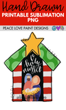 Nativity Scene Christmas Sublimation Design for t-shirts, Pillows, Mugs, and more! Download this Sublimation Printable PNG for your sublimation ideas, sublimation t-shirts or designs!