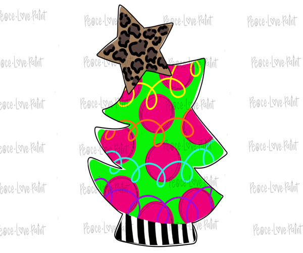 Rockin' Tree Plain-Peace Love Paint Designs