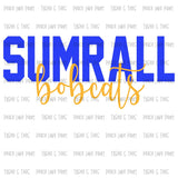Adult Sumrall Bobcats Collection