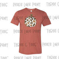 Adult Neutral Pumpkin Tee (Clay)