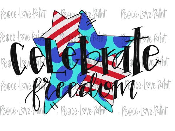 Grab this celebrate patriotic sublimation design for the 4th of July! This Memorial Day Sublimation Design or 4th of July Sublimation design is perfect for tshirts, pillows, mugs, or any sublimation project you have!