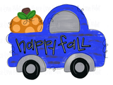 Pumpkin Truck Hand Drawn Sublimation Design-Digital Download-Peace Love Paint Designs