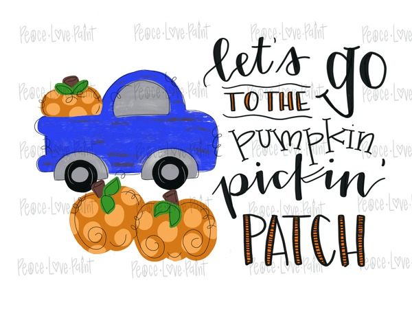 This Pumpkin Patch fall sublimation design is perfect for sublimation t-shirts, sublimation projects and sublimation design ideas! Grab it here from Peace Love Paint Designs!