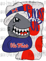 Ole Miss Sublimation Design! Perfect for Sublimation Printing and Sublimation T-shirts. Download the hand drawn PNG from Peace Love Paint Designs here.