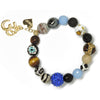 Big Blue Bling - Eclectic Love & Om Charm