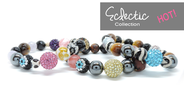 Eclectic Collection - Natural Stone Evil Eye Jewelry