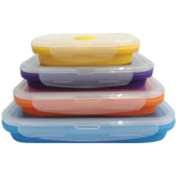 Flat Stacks 4 Piece Set - Rectangle