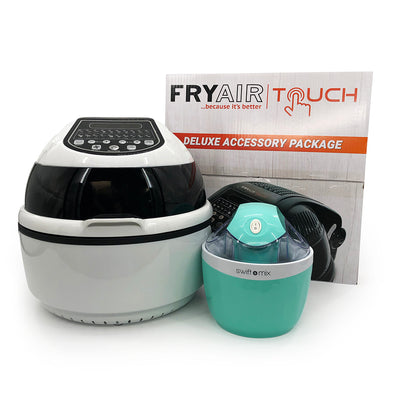 FRYAIR Touch XL + Ice Cream Maker Value Bundle