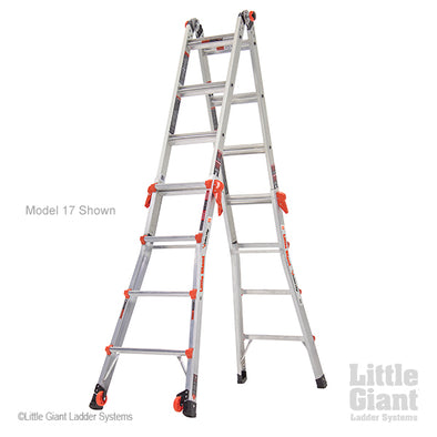 Little Giant Velocity 4.6m (4 Step) Transforming Aluminium Ladder