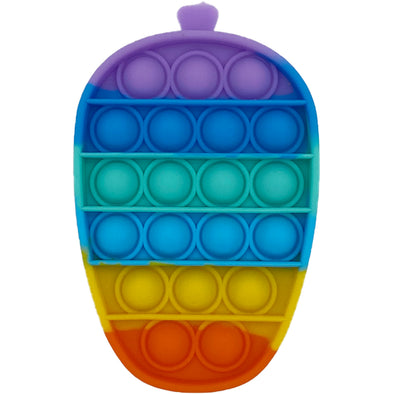Pop It Fidget Toy - Rainbow Acorn