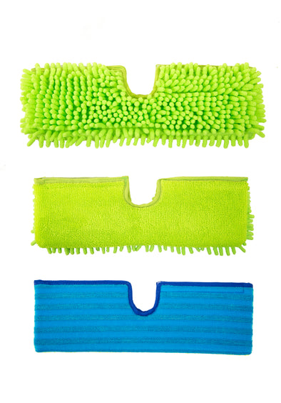 H2O E3 Mop Pads 3 Pack