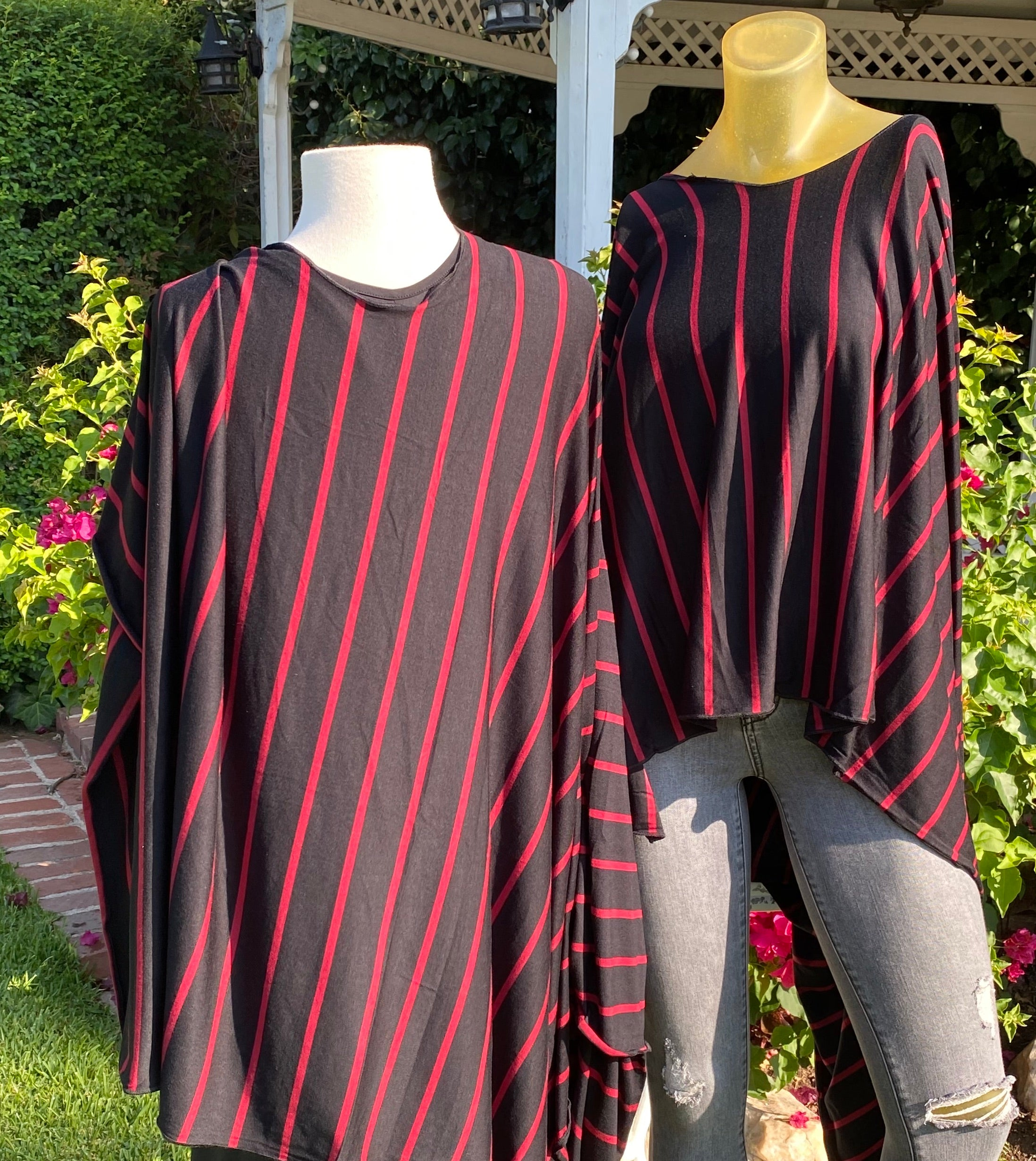 Stripe me on a Black and Red Highway 51252
