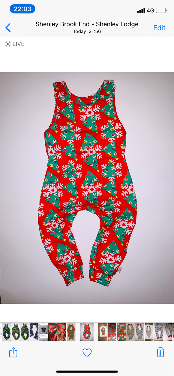 Exclusive Christmas Romper
