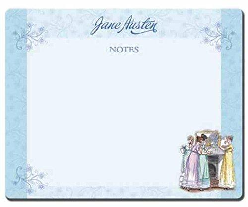 Jane Austen Tear Off Desk Pad