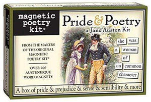 Pride and Poetry: A Jane Austen Magnet Set -  thejaneaustenshop.co.uk