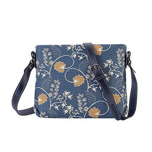 Inspire Collection - Jane Austen Blue Cross-body Bag