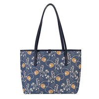 Inspire Collection - Jane Austen Blue Tote Bag