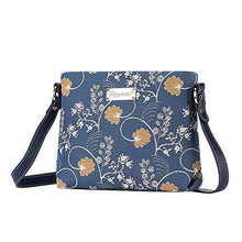 Load image into Gallery viewer, Inspire Collection - Jane Austen Blue Cross-body Bag