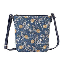 Load image into Gallery viewer, Inspire Collection - Jane Austen Blue Shoulder Bag