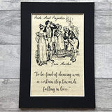Pride And Prejudice Parchment Print -  thejaneaustenshop.co.uk