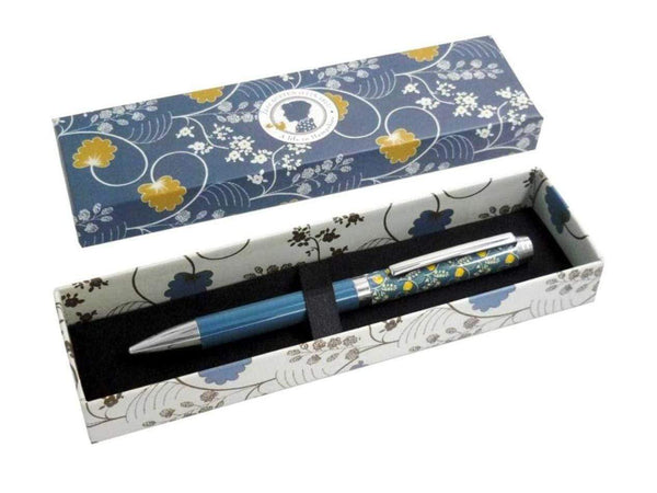 Jane Austen Blue Pen