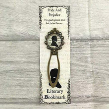 Load image into Gallery viewer, Pride And Prejudice Bookmark - Mr Darcy