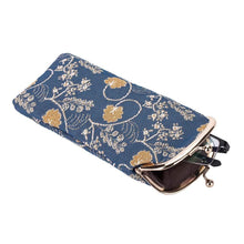 Load image into Gallery viewer, Inspire Collection - Jane Austen Blue Glasses Case -  thejaneaustenshop.co.uk