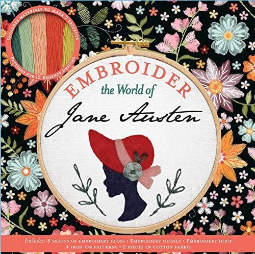 Embroider the World of Jane Austen - Pre Order : Release Date: 27-10-2020