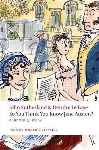 So You Think You Know Jane Austen? A Literary Quizbook -  thejaneaustenshop.co.uk
