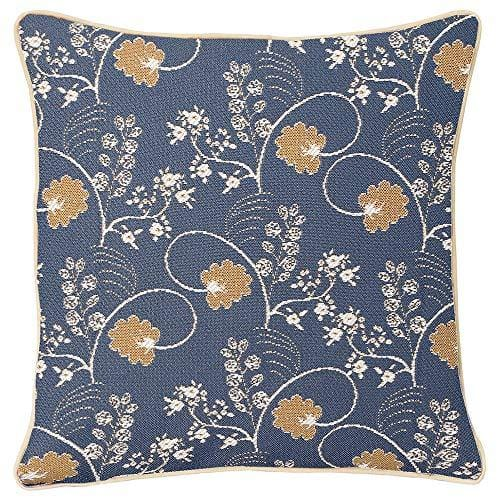 Inspire Collection - Jane Austen Blue Cushion Cover