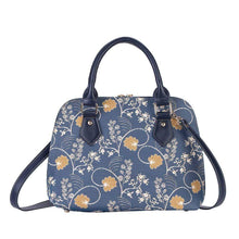 Load image into Gallery viewer, Inspire Collection - Jane Austen Blue Hand Bag