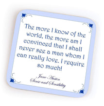 Load image into Gallery viewer, Jane Austen Quote Coasters -  thejaneaustenshop.co.uk