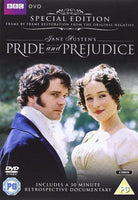 Pride and Prejudice - Special Edition DVD -  thejaneaustenshop.co.uk