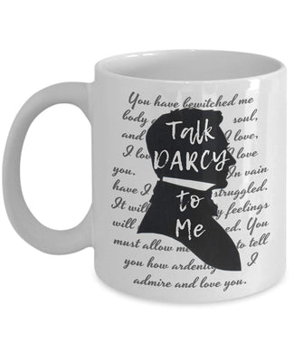 Talk Darcy to Me Mug