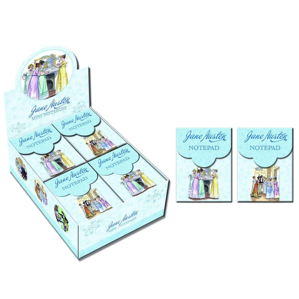 Jane Austen Mini Magnetic Notebooks -  thejaneaustenshop.co.uk