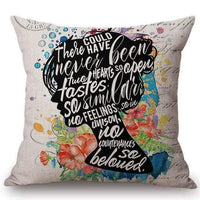 Persuasion Quote Cushion