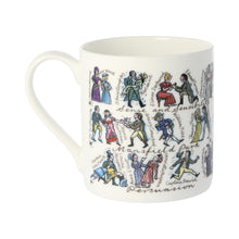 Load image into Gallery viewer, Jane Austen Characters Mug