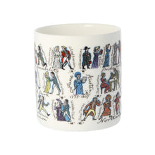 Load image into Gallery viewer, Jane Austen Characters Mug -  thejaneaustenshop.co.uk