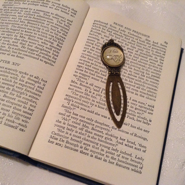 Pride & Prejudice Quote Bookmark