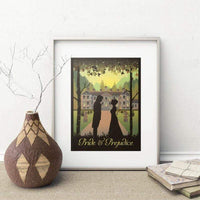 Pride and Prejudice Canvas Picture -  thejaneaustenshop.co.uk