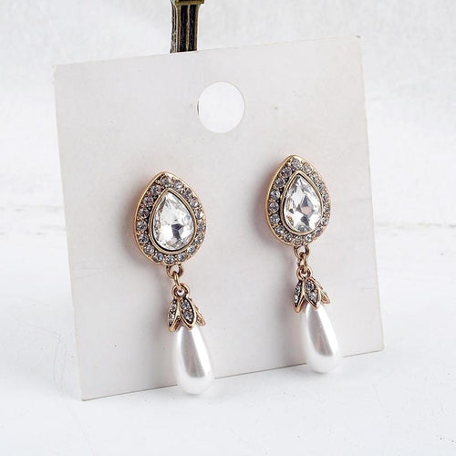 Jane Austen style earrings jewellery