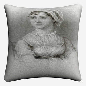 The Portrait Of Jane Austen Cushion Cover