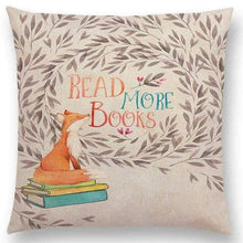 Load image into Gallery viewer, Reading & Books Cushion Cover