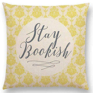 Reading & Books Cushion Cover