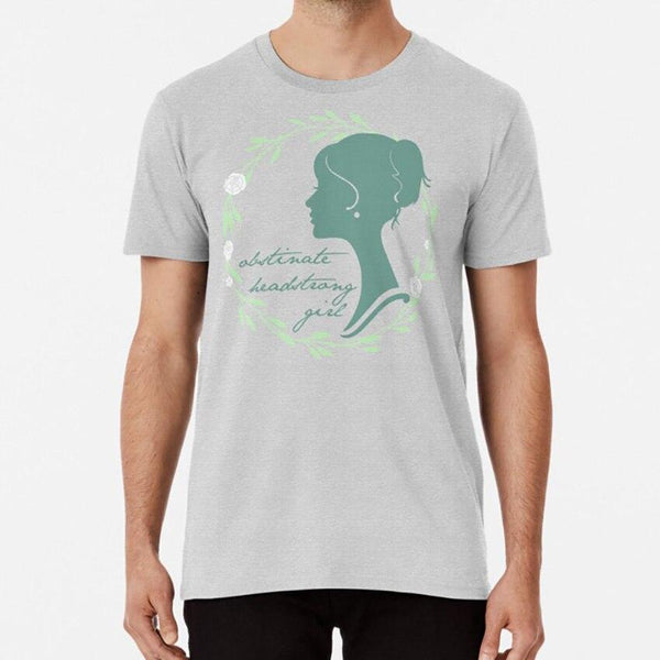 Obstinate Headstrong Girl! T-Shirt -  thejaneaustenshop.co.uk