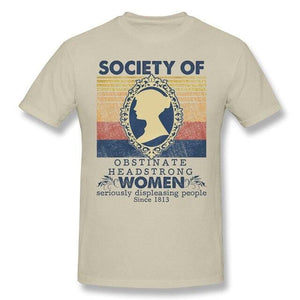 Society Of Obstinate Headstrong Women T-Shirt