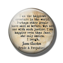 Load image into Gallery viewer, Pride & Prejudice Quote Fridge Magnets