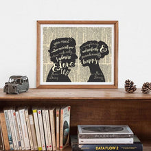 Load image into Gallery viewer, Mr & Mrs Darcy Canvas Print